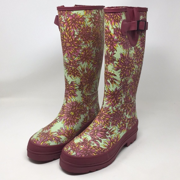 cc2446a6256 Smith   Hawken Poppy Rubber Boots 10